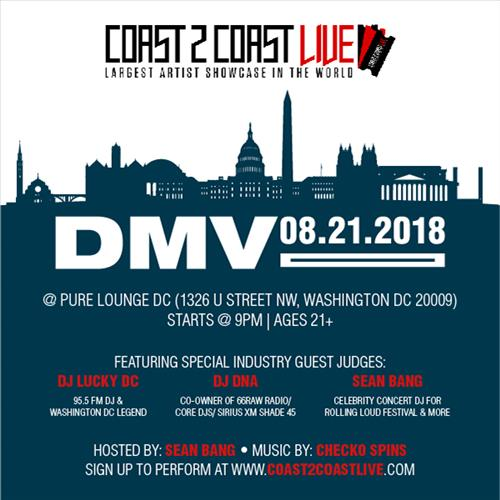 Coast 2 Coast Live Dmv Edition 8 21 18 Coast 2 Coast Events