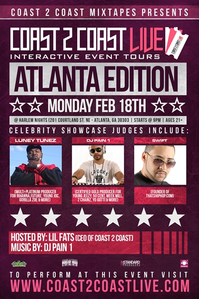 Coast 2 Coast LIVE Atlanta Edition
