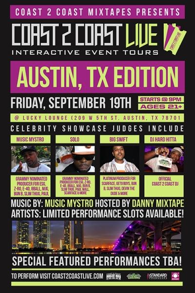 COAST 2 COAST LIVE Austin TX Edition 9/19/14
