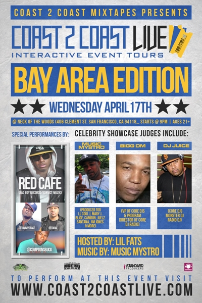 Coast 2 Coast LIVE Bay Area Edition 4/17