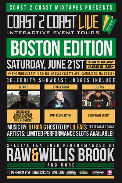 COAST 2 COAST LIVE Boston Edition 6/21/14