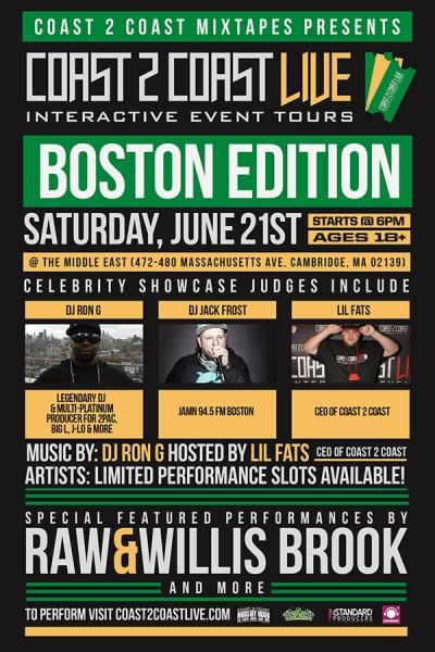 COAST 2 COAST LIVE Boston Edition 6/21/14
