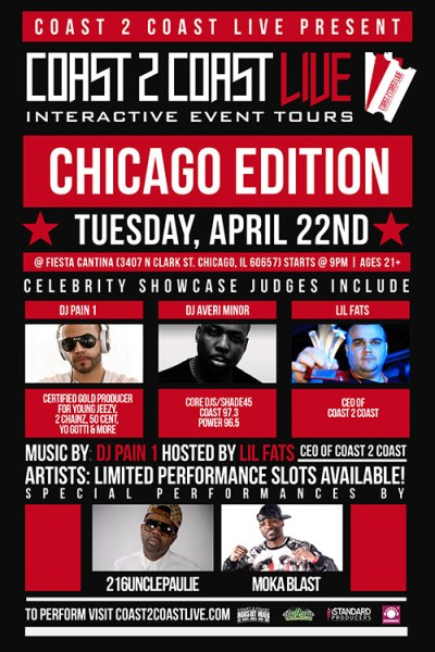 Coast 2 Coast LIVE Chicago Edition 4/22/14