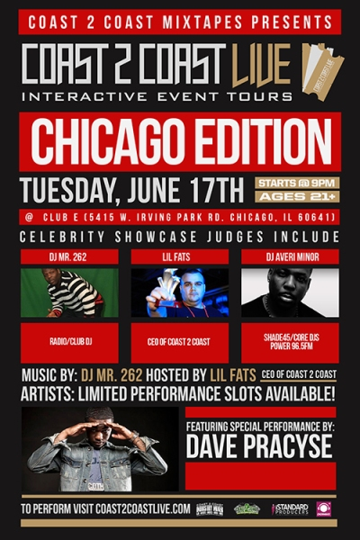COAST 2 COAST LIVE CHICAGO EDITION 6/17