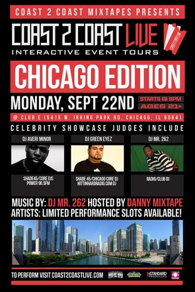 COAST 2 COAST LIVE Chicago Edition 9/22/14