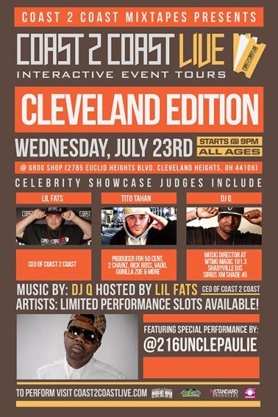 COAST 2 COAST LIVE Cleveland Edition 7/23/14