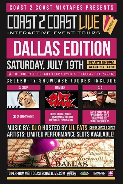 Coast 2 Coast LIVE Dallas Edition 7/19/14