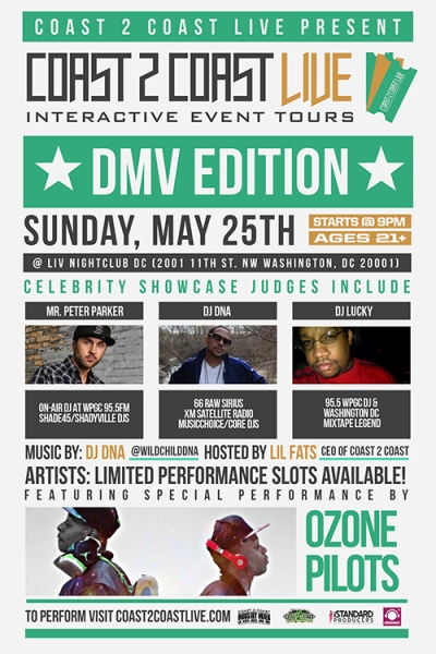 Coast 2 Coast LIVE DMV Edition 5/25/14