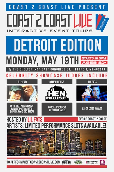 Coast 2 Coast LIVE Detroit Edition 5/19/14