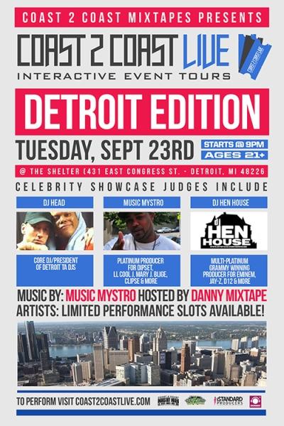 COAST 2 COAST LIVE Detroit Edition 9/23/14