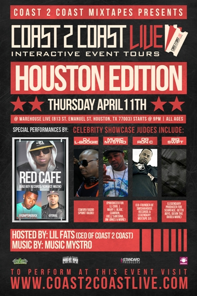 Coast 2 Coast LIVE Houston Edition