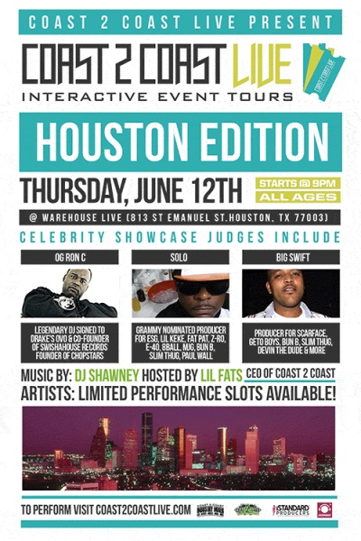 Coast 2 Coast LIVE Houston Edition 6/12/14