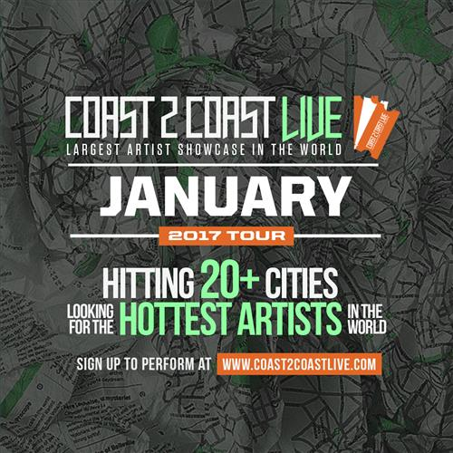 Coast 2 Coast LIVE Interactive Artist Showcase Hawaii Edition 1/29/17