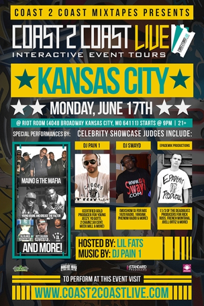 Coast 2 Coast LIVE KC Edition 6/17 - Maino