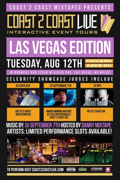 COAST 2 COAST LIVE Las Vegas Edition 8/12/14