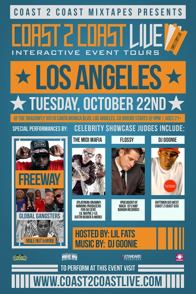 Coast 2 Coast LIVE LA Edition 10/22/13 Feat. Freeway