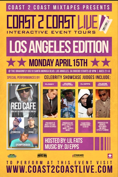 Coast 2 Coast LIVE Los Angeles Edition 4/15