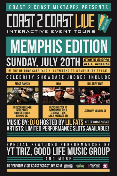 COAST 2 COAST LIVE Memphis Edition 7/20/14