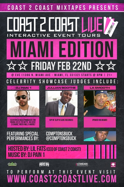 Coast 2 Coast LIVE Miami Edition 2-22