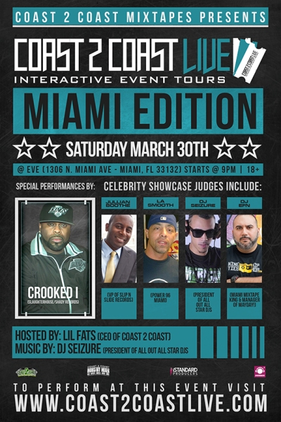 Coast 2 Coast LIVE Miami Edition 3/30/13