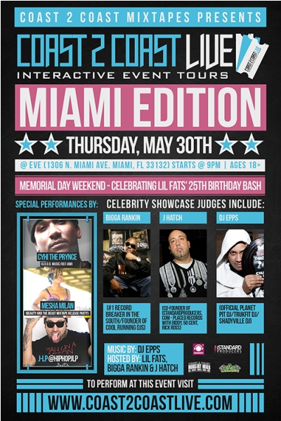 Coast 2 Coast LIVE - Miami Edition - Cyhi The Prynce