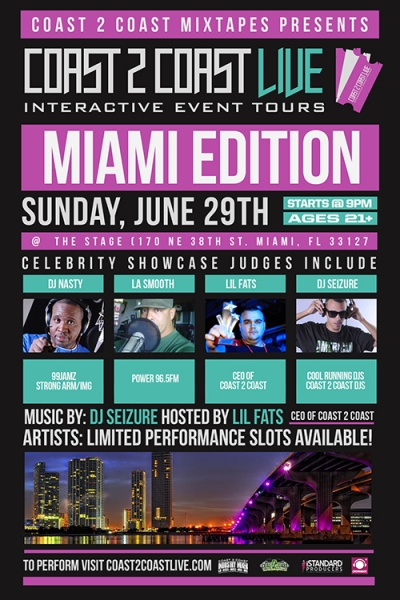 COAST 2 COAST LIVE Miami Edition 6/29/14