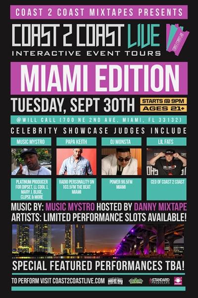 COAST 2 COAST LIVE Miami Edition 9/30/14