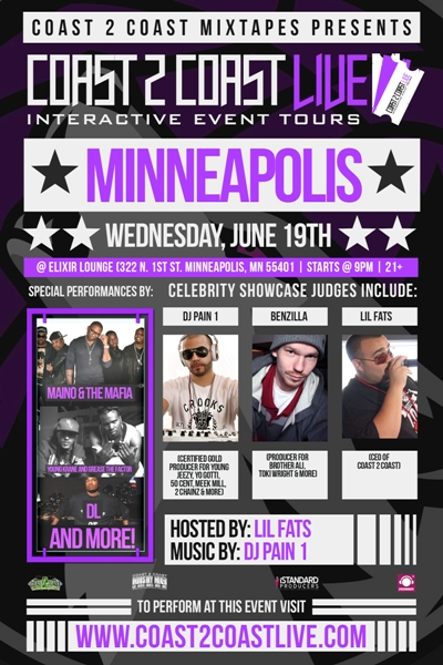 Coast 2 Coast LIVE Minneapolis Edition 6/19 - Maino
