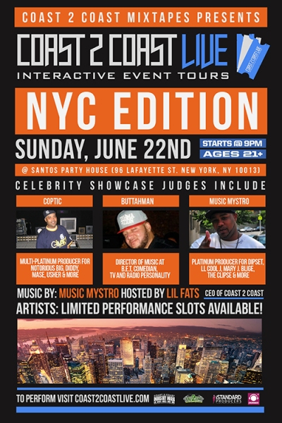 COAST 2 COAST LIVE NYC Edition 6/22/14