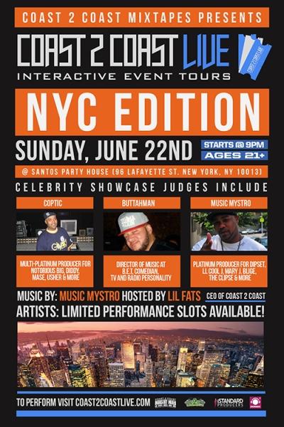 COAST 2 COAST LIVE NYC Edition 6/22/14