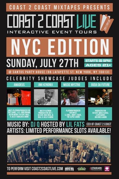 COAST 2 COAST LIVE NYC Edition 7/27/14