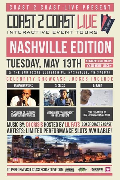 Coast 2 Coast LIVE Nashville Edition 5/13/14