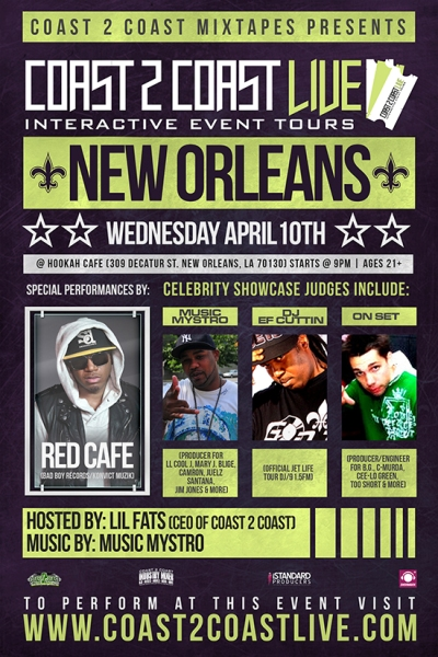Coast 2 Coast LIVE New Orleans Edition 4/10