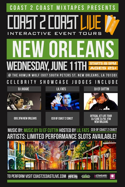 Coast 2 Coast LIVE New Orleans Edition 6/11/14