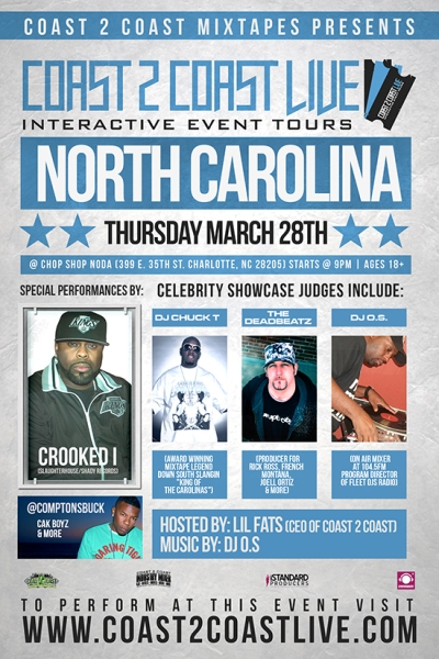 Coast 2 Coast LIVE North Carolina Edition