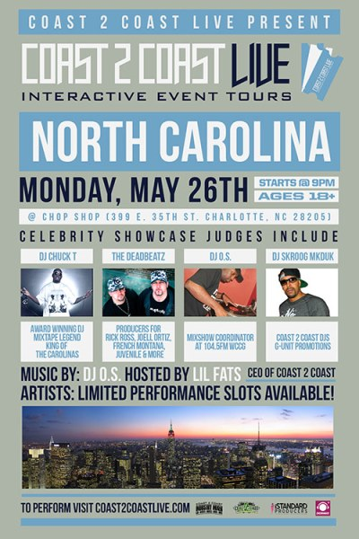 Coast 2 Coast LIVE NC Edition 5/26/14