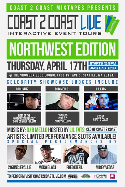 Coast 2 Coast LIVE Northwest Edition 4/17/14