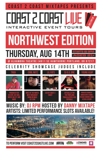 COAST 2 COAST LIVE Northwest Edition 8/14/14