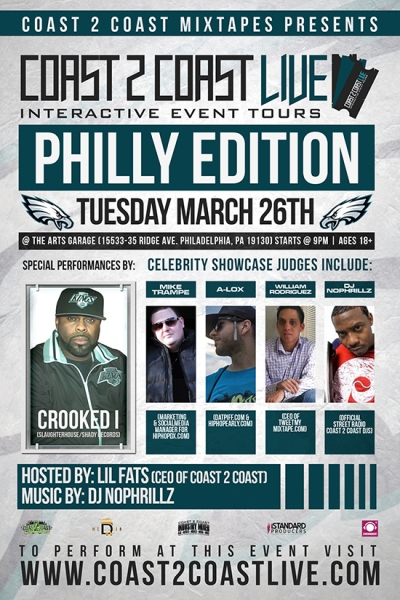 Coast 2 Coast LIVE Philly Edition - Crooked I