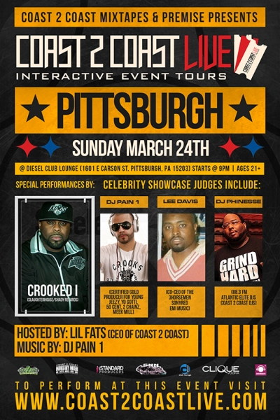 Coast 2 Coast LIVE Pittsburgh Edition 3/24