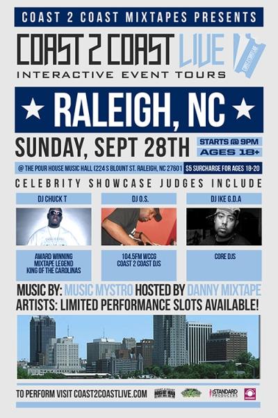 COAST 2 COAST LIVE Raleigh NC Edition 9/28/14