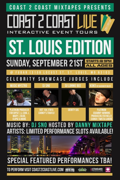 COAST 2 COAST LIVE St. Louis Edition 9/21/14