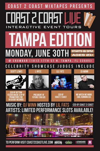 COAST 2 COAST LIVE Tampa Edition 6/30/14