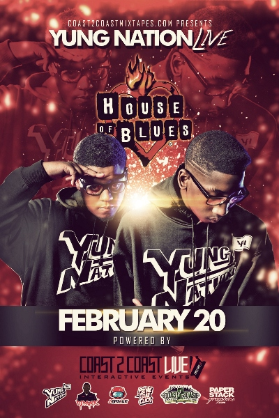 Yung Nation LIVE at House of Blues Dallas