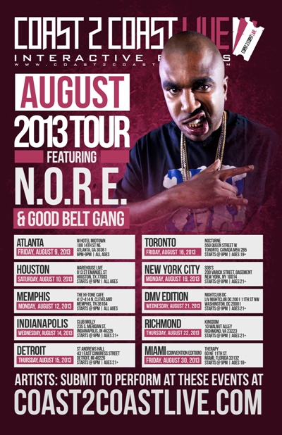Coast 2 Coast LIVE Convention Edition Feat. NORE