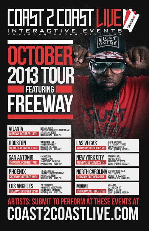 COAST 2 COAST LIVE OCTOBER 2013 TOUR