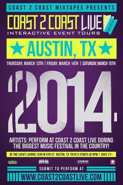 COAST 2 COAST LIVE DECEMBER 2013 TOUR