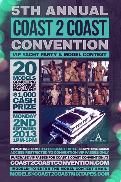 Coast 2 Coast Convention Yacht Party & Model Contest