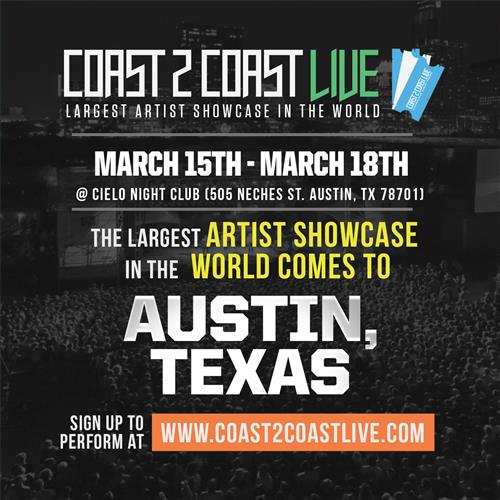 Coast 2 Coast LIVE Interactive Artist Showcase