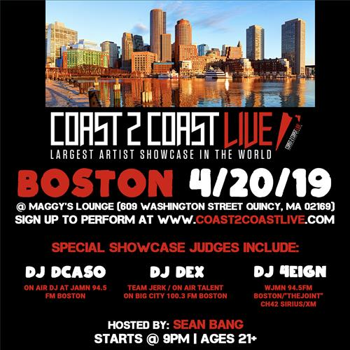 Coast 2 Coast Live Boston Edition 4 20 19 Coast 2 Coast Events
